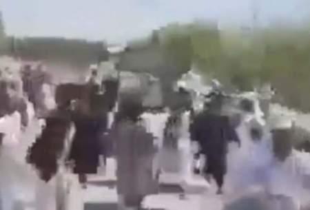 نیروهای طالبان به جان هم افتادند! /فیلم
