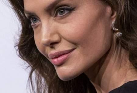 تصاویری از آنجلینا جولی در تبلیغ آخرین فیلمش
